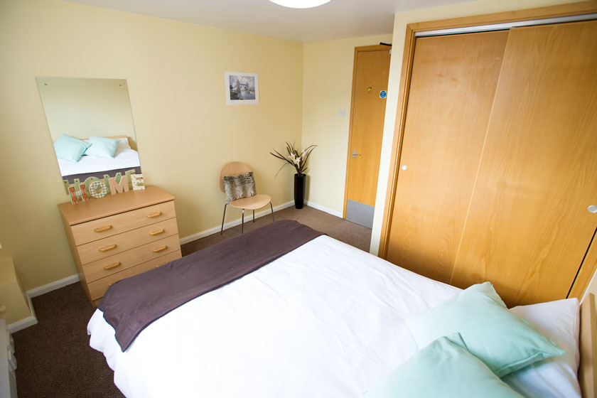 Couples accommodation example bedroom
