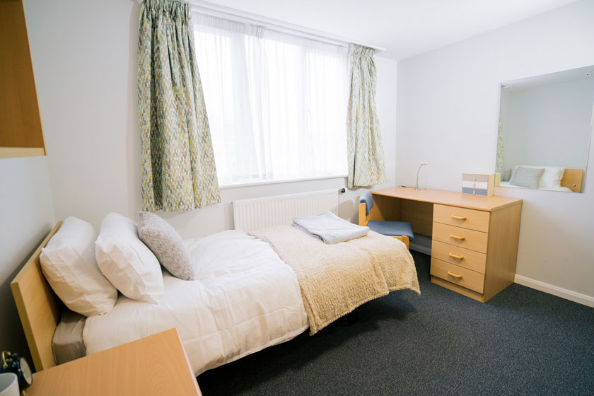 Example bedroom within our short term accommodation