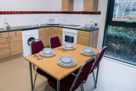 Example kitchen area in our en-suite accommodation