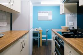 Example Grantchester House shared kitchen and dining area