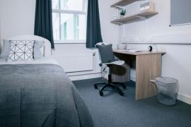 Example bedroom in our Student accommodation
