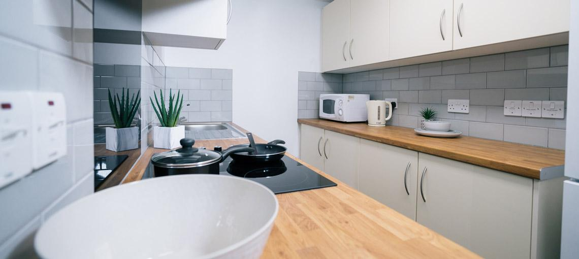 Example Grantchester House shared kitchen